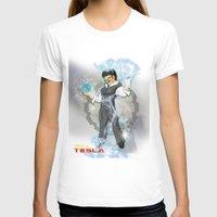 dbz T-shirts featuring DBZ Tesla Milky Way by Hushy