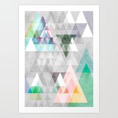 Graphic 35 Art Print