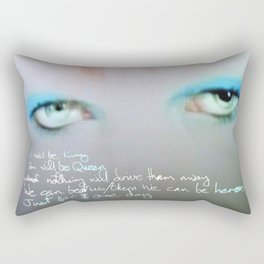 just for one day Rectangular Pillow