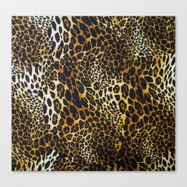 leopard skin Canvas Print