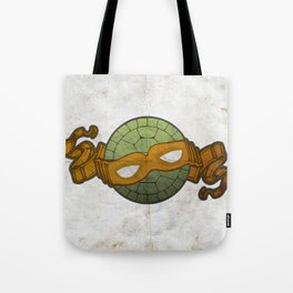 The Orange Turtle Tote Bag