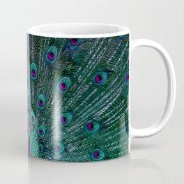 BLOOMING PEACOCK Coffee Mug