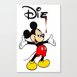 The Poorly Mouse Canvas Print