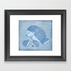 When he was young Framed Art Print