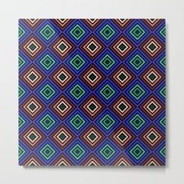 Magic Squares Metal Print