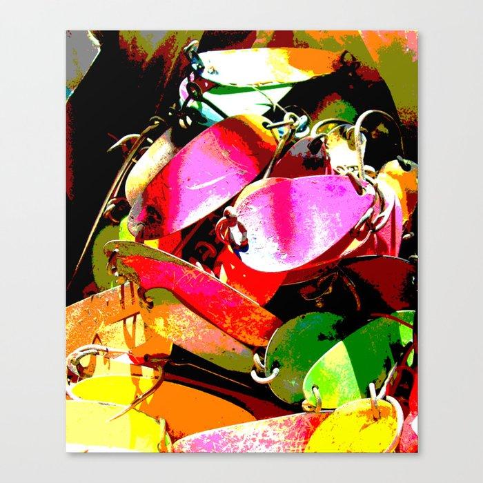 Lured Canvas Print