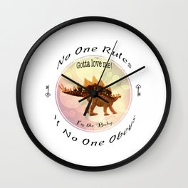 No One Rules If No One Obeys Wall Clock