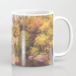 New York City Autumn Bridge Coffee Mug