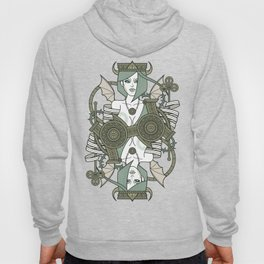 SINS Mentis - Envy Queen of Clubs Hoody