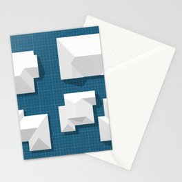 Roofscape #6 Stationery Cards