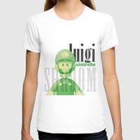 luigi T-shirts featuring Luigi by Thomas Official
