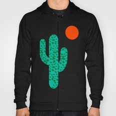 No Foolin - retro throwback neon art design minimal abstract cactus desert palm springs southwest  Hoody