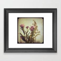 Vintage Bouquet Framed Art Print