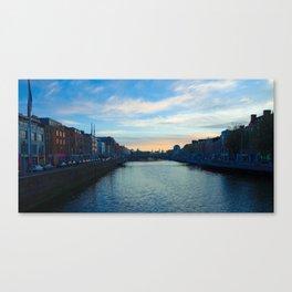 river leffy  Canvas Print