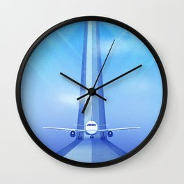 Destination: Dreamland Wall Clock