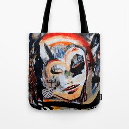 Verano - Vegan series - Original painting - Marina Taliera Tote Bag