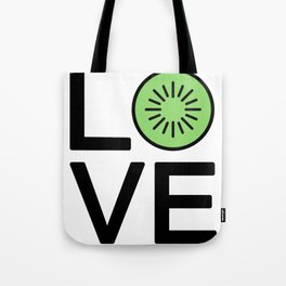 Love Kiwis Cute And Funny Love Design Tote Bag