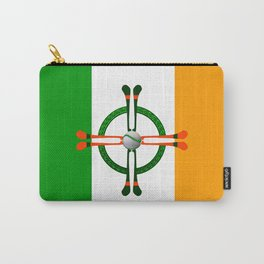 Hurley and Ball Celtic Cross Design Carry-All Pouch