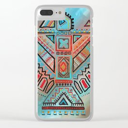 Thunderbird - Native North American Indian Art Clear iPhone Case