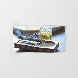 Cigar Time Hand & Bath Towel