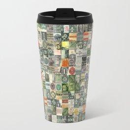 Money Montage Travel Mug