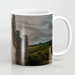 Clifden Castle at the sunset Coffee Mug
