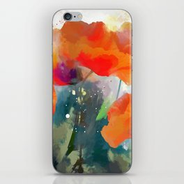 Poppies  2017 iPhone Skin