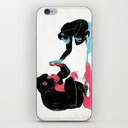 Monkey See Monkey Do iPhone Skin