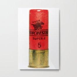 12 Guage Shell Metal Print