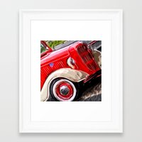 ford Framed Art Prints featuring Ford by Artsy B