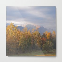 Cades Cove Autumn Metal Print