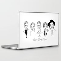 cactei Laptop & iPad Skins featuring One Direction by ☿ cactei ☿