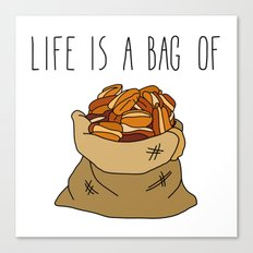Life Is a Bag of... Canvas Print