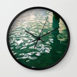 Public Pool Wall Clock