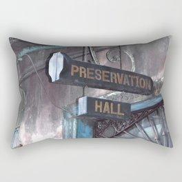 A Music Haven: Preservation Hall Rectangular Pillow