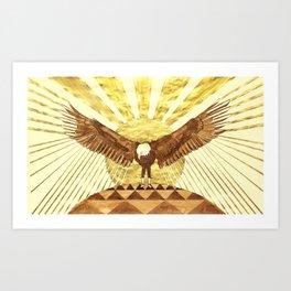 Eagle Man Art Print
