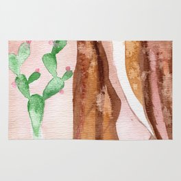 Cactus woman Rug