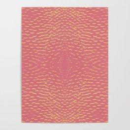 pink pattern Poster