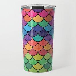 Watercolor Lovely Pattern VVXVII Travel Mug