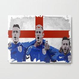 England Football Anthem Metal Print