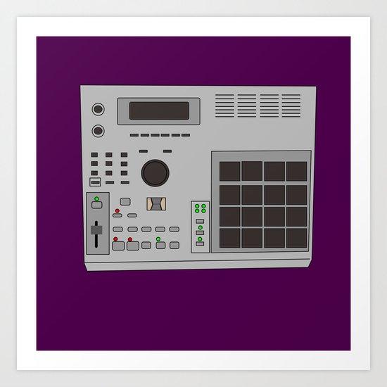 Mpc 2000 Art Print