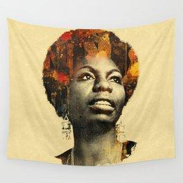 Nina Simone Wall Tapestry
