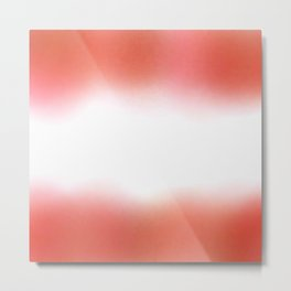flag of austria - with cloudy colors Metal Print