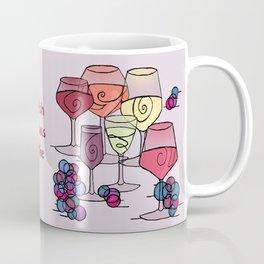 Wine and Grapes v2 Coffee Mug
