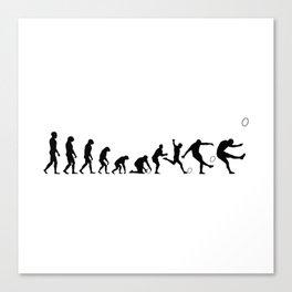 Evolution Rugby #5 - Kick Canvas Print