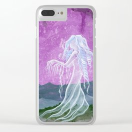 Don't Close Your Eyes Clear iPhone Case