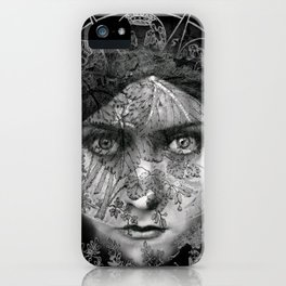 The Eyes of Alchemy Dark iPhone Case