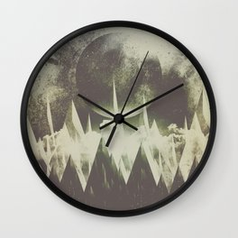 When mountains fall asleep Wall Clock