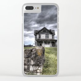We are not in Kansas anymore Clear iPhone Case