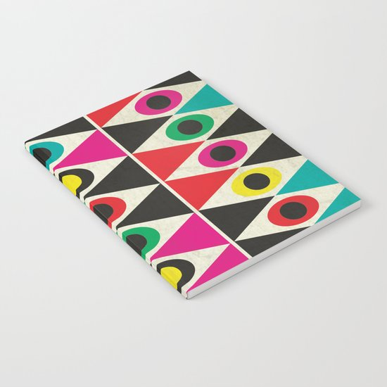 triangle pattern Notebook